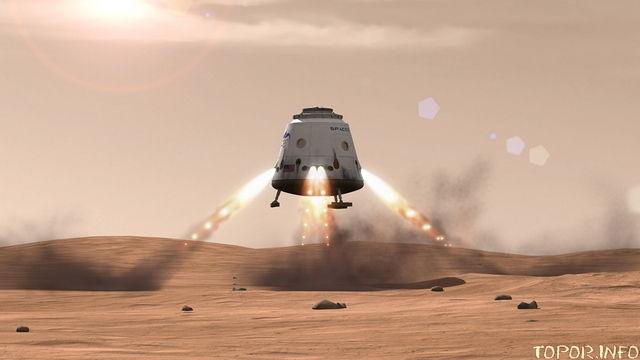 Посадочный модуль SpaceX