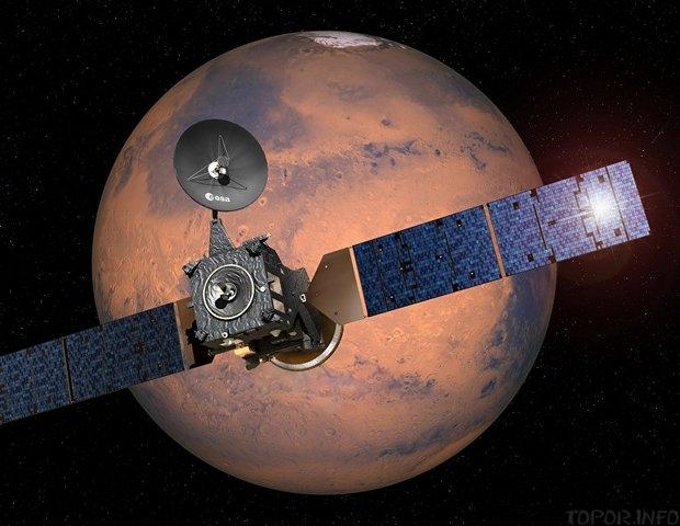 Один из спутников Европейского космического агентства