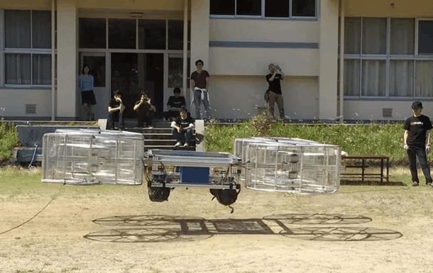 Инженеры тестируют летающую основу автомобиля