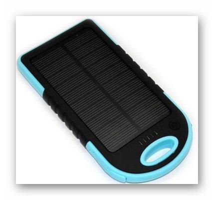 Power bank с солнечной батареей