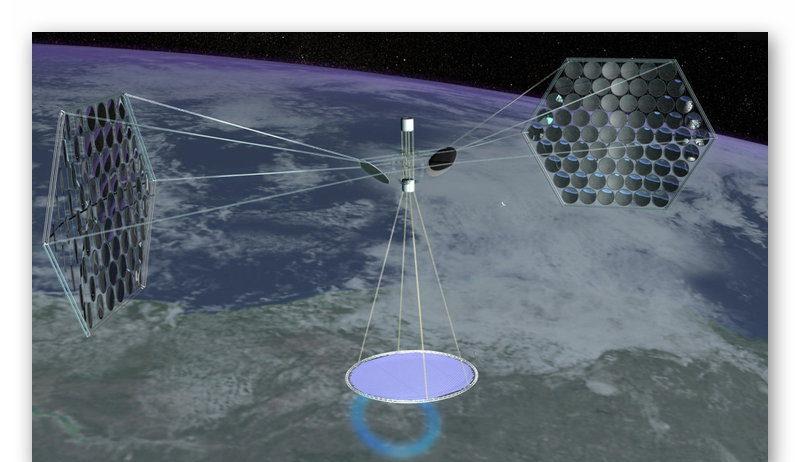 Концепт орбитальной электростанции