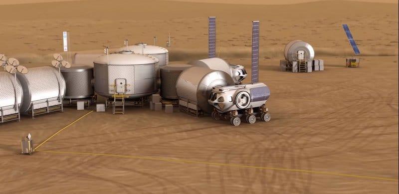 Часть марсианской базы