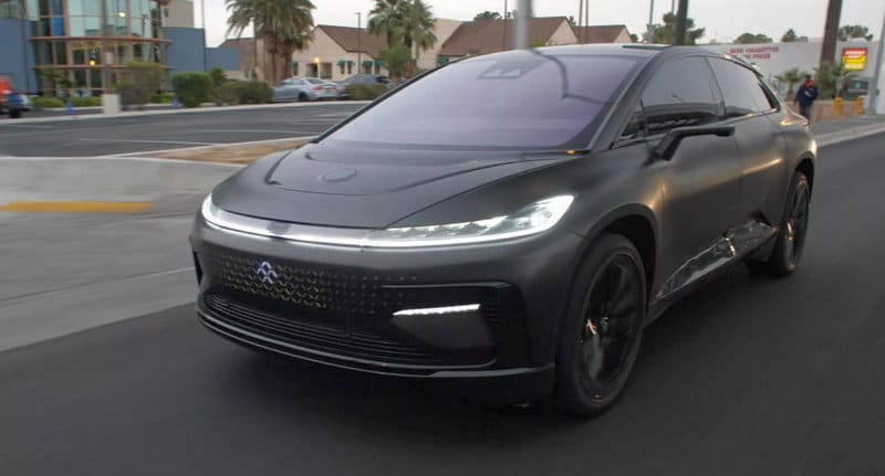 Автомобиль Faraday Future FF91