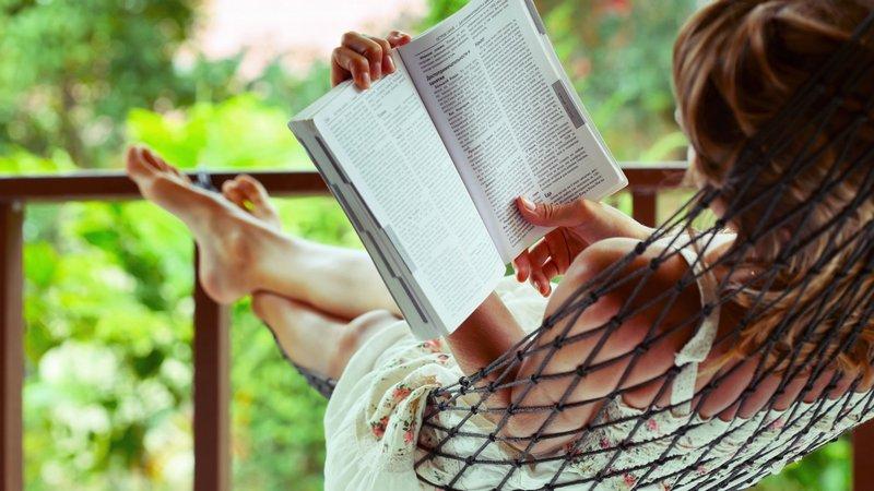 Чтение позволяет расслабиться