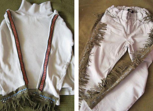 Cómo hacer un disfraz indio