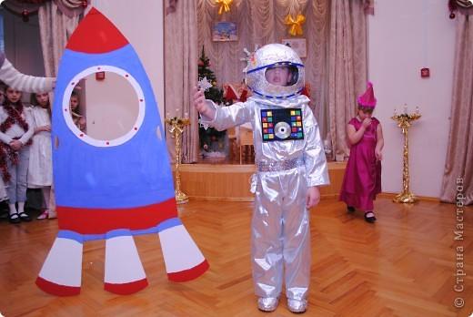 Zapatos espaciales para el vestuario de año nuevo infantil.