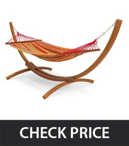 Best-Choice-Products-Wood-Curved-Arc-Hammock-Stand