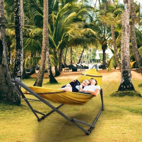 Best Portable Double Hammock With Stand