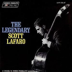 The Legendary Scott LaFaro album cover