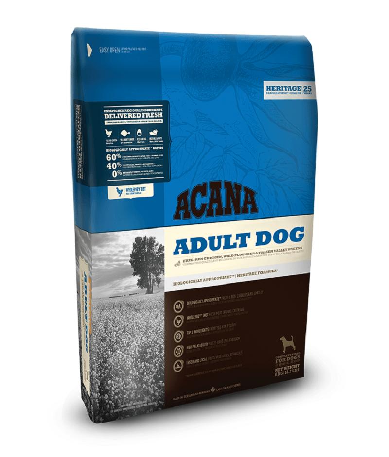 características del pienso acana adult dog