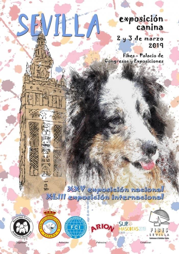 Exposición canina en Sevilla 2019 los días 2 y 3 de marzo