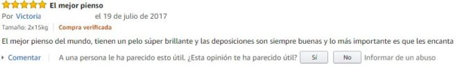 Opiniones pienso Luposan