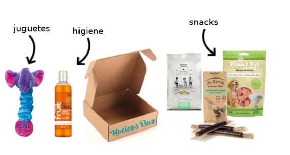 Caja de suscripción para perros Hocicos Box
