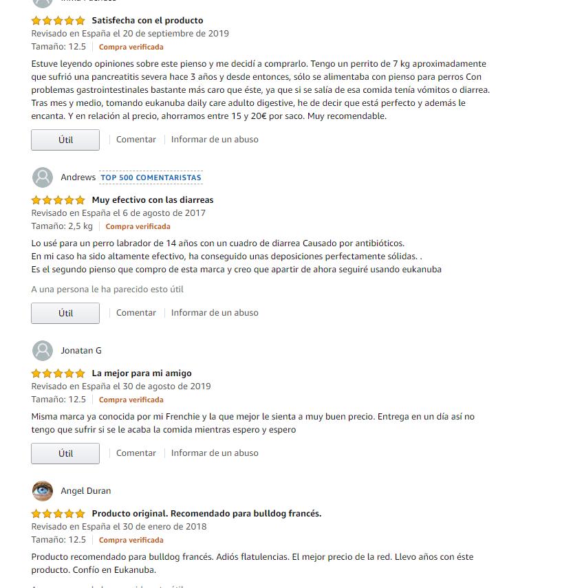 Opiniones del pienso Eukanuba Daily Care Digestión delicada