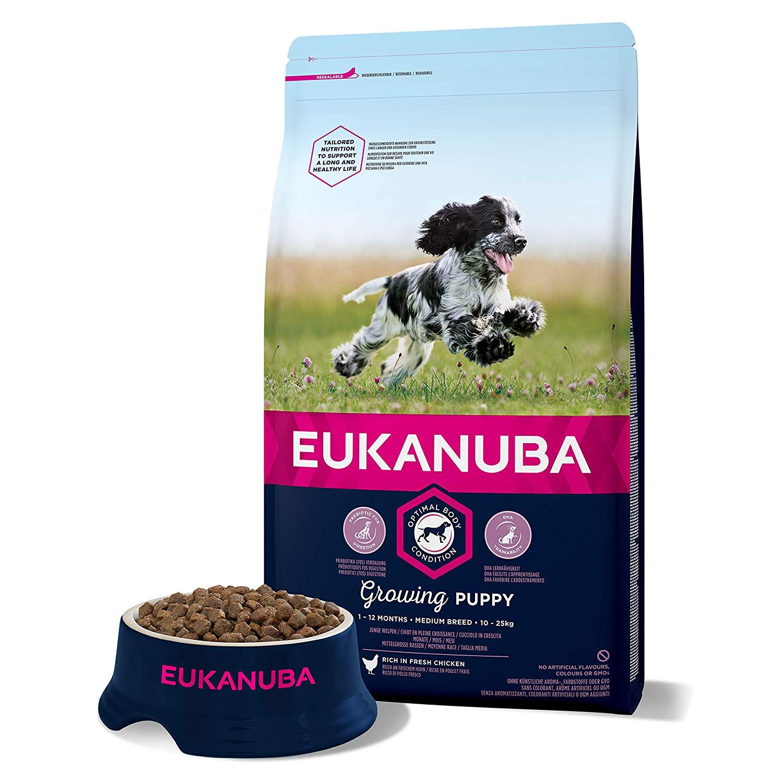 Eukanuba Cachorros razas medianas