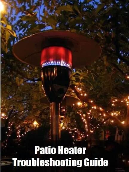 how to light patio heater manually