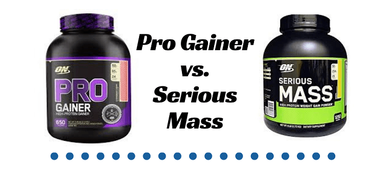 Pro Gainer vs. Serious Mass