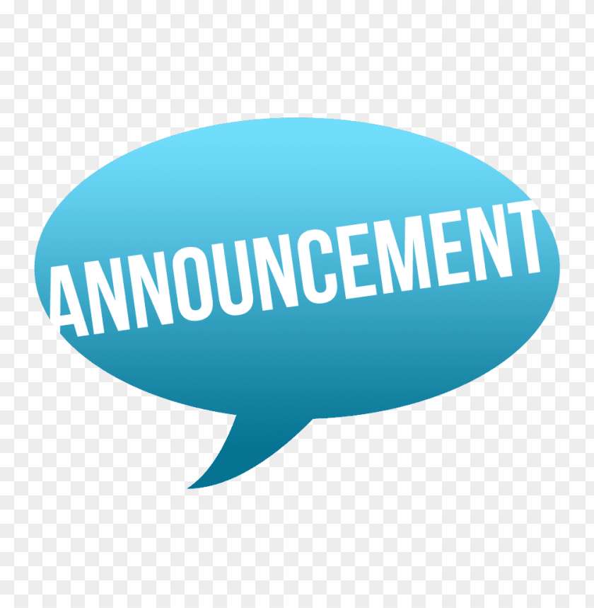 announcement logo png image