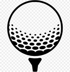 free download golf ball vector clipart golf balls golf ball clipart black and white PNG image with transparent background TOPpng