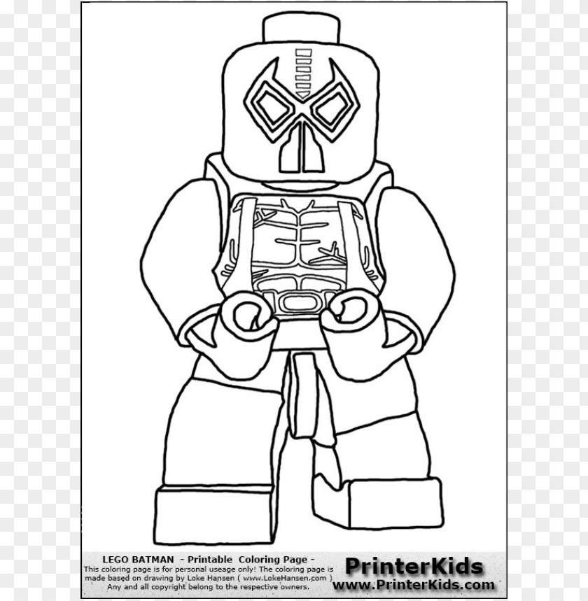 Lego Batman Coloring Pages Color Png Image With Transparent Background Toppng