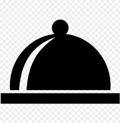 covered plate of food vector icon food plate PNG image with transparent background TOPpng
