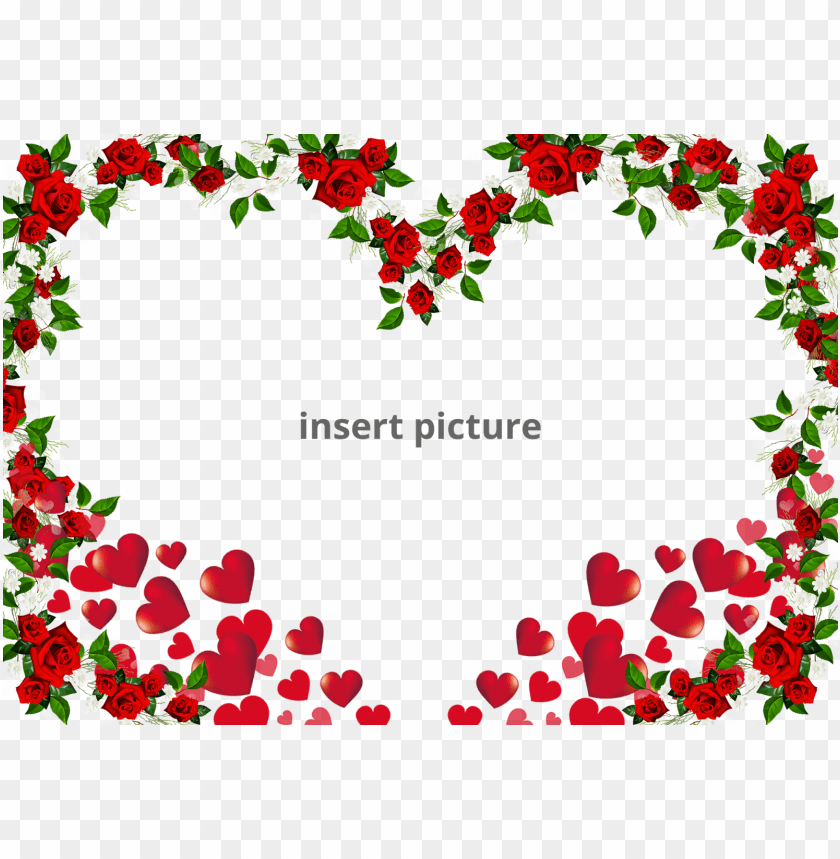 Download Free Printable Heart Shape Png Frame Download Picture Frame Png Image With Transparent Background Toppng