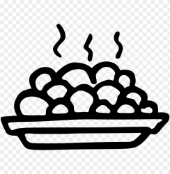 food plate icon PNG image with transparent background TOPpng