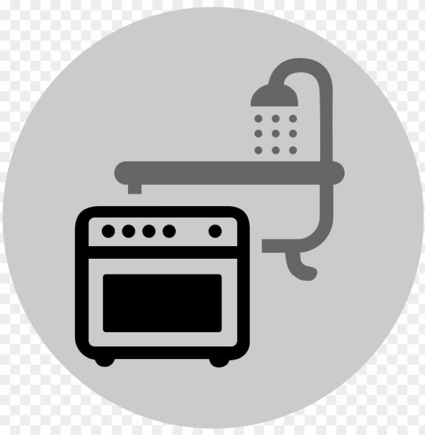Icon Kitchens And Bathrooms Kitchen And Bathroom Ico Png Image With Transparent Background Toppng