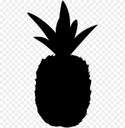 ineapple silhouette png silhouette pineapple shape PNG image with transparent background TOPpng