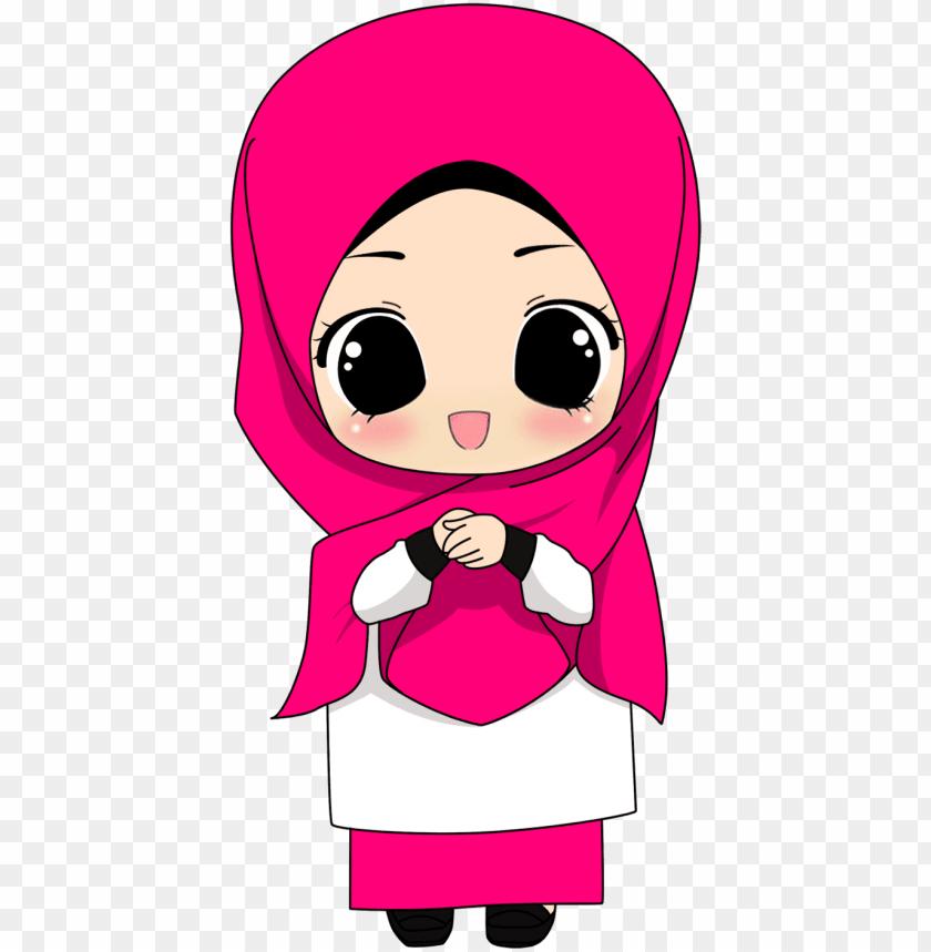 Terbaik 55+ Gambar Kartun Hijab Lucu