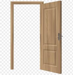 Download open wooden door clipart png photo TOPpng