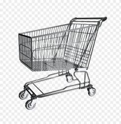 rocery cart shopping cart transparent background PNG image with transparent background TOPpng