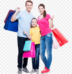 shopping stock photography family retail family shopping photo PNG image with transparent background TOPpng