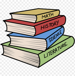 stack of books drawing easy PNG image with transparent background TOPpng