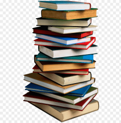 stack of books transparent PNG image with transparent background TOPpng