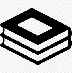 stacked books icon transparent PNG image with transparent background TOPpng