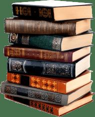 boy waving behind a stack of books clip art boy waving