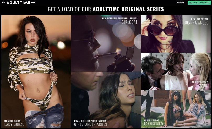 AdultTime - เว็บหนังโป็ที่ดีที่สุด