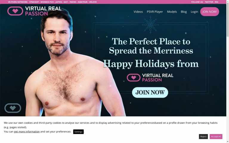 Virtual Real Passion - top Gay Vr Porn Sites