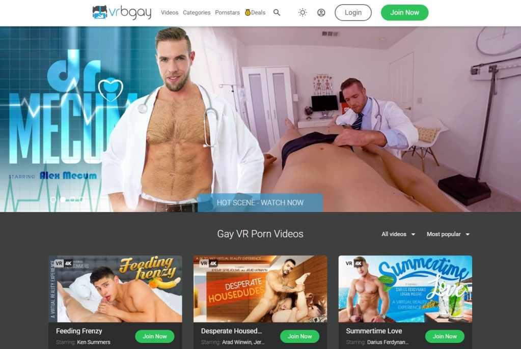 Vrbgay - top Gay Vr Porn Sites