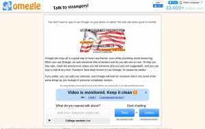 Omegle - top Sex Chat Sites