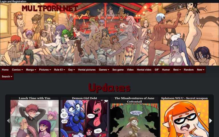 Multporn - top Porn Comics Sites