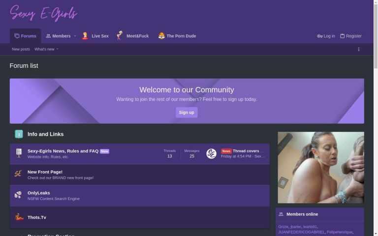 Sexy-Egirls - top Porn Forums