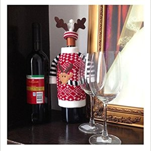 top 10 best christmas wine bottle decorations 2018 review - Christmas Bottle Decorations