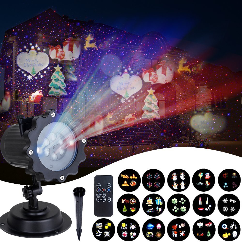 Popular Brand Star Holiday Lights Outdoor Laser Projector Showers Christmas Tree Light For New Year Eve Christmas Decorations For Home Strong Resistance To Heat And Hard Wearing Lights & Lighting