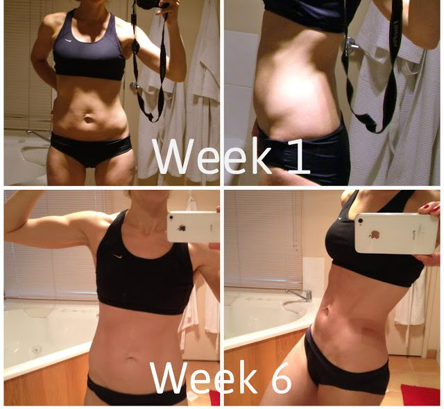 6 Week Transformation Challenge pictures