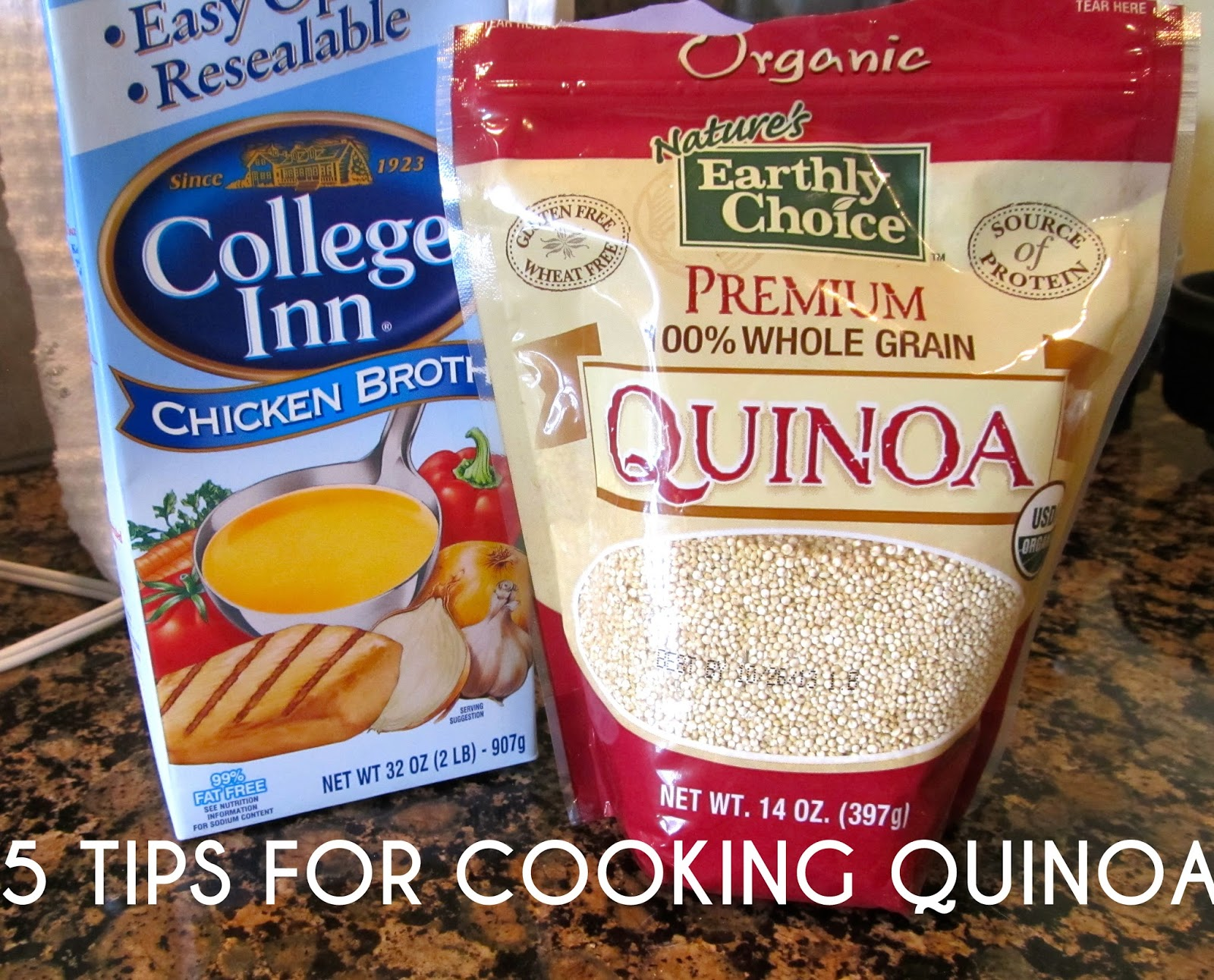 5 tips for cooking quinoa
