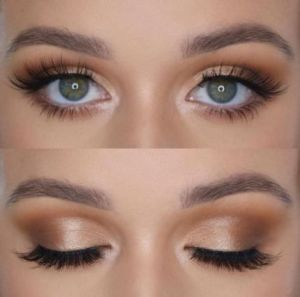 17 makeup Bridesmaid gold ideas