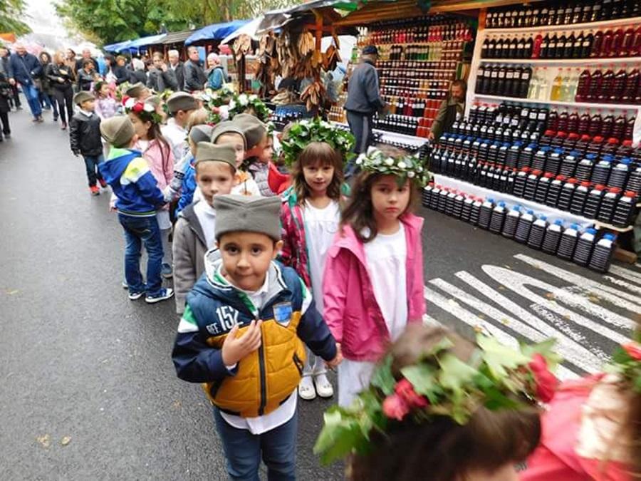 Предшколци у Тополи одржали наступ на Винском тргу