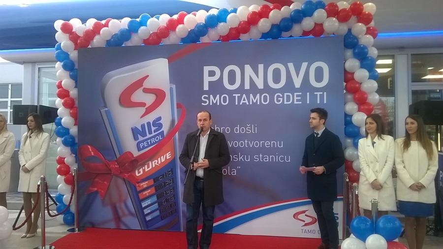 Отворена нова НИС Петрол бензинска станица у Тополи